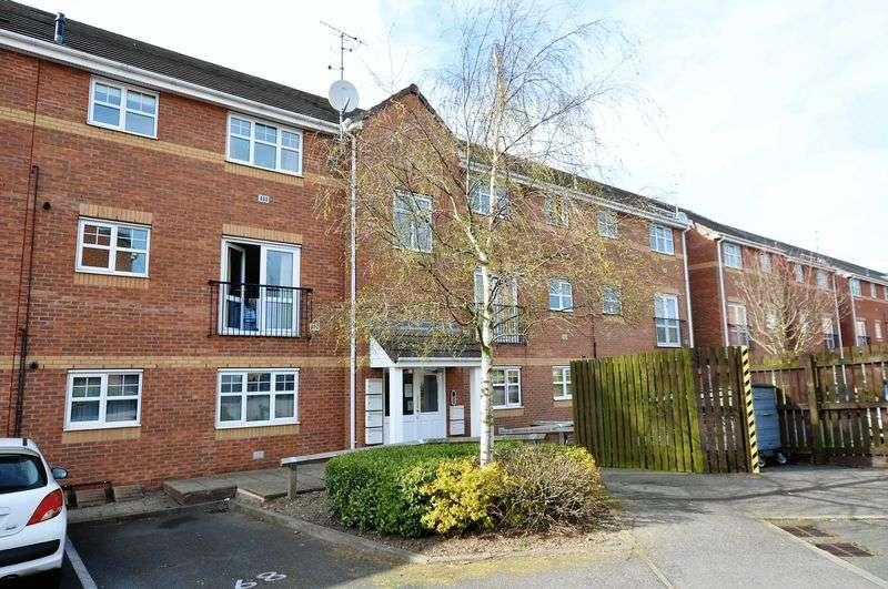 2 Bedrooms Flat for sale in Black Eagle Court, Burton-On-Trent