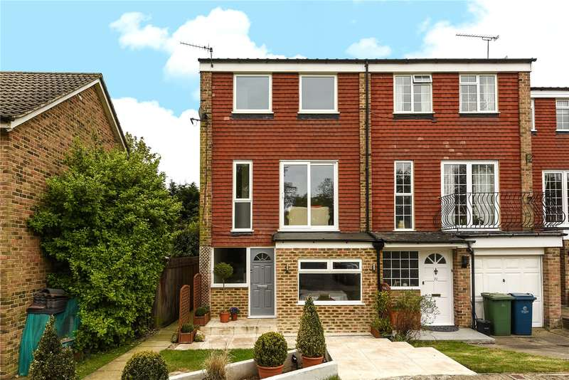 3 Bedrooms End Of Terrace House for sale in Acacia Close, Stanmore, Middlesex, HA7