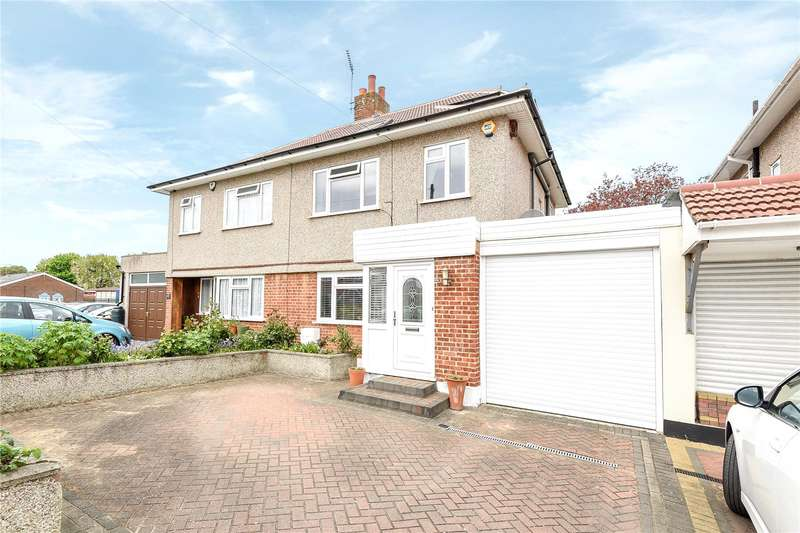 4 Bedrooms Semi Detached House for sale in Weymouth Road, Hayes, Middlesex, UB4