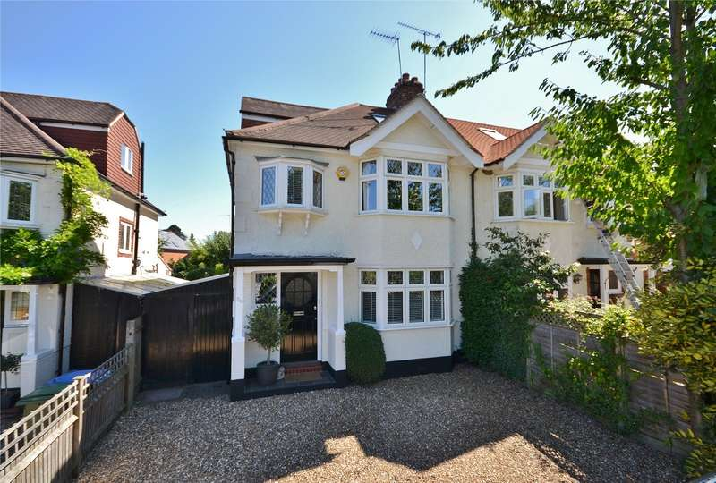 4 Bedrooms Semi Detached House for sale in Esher