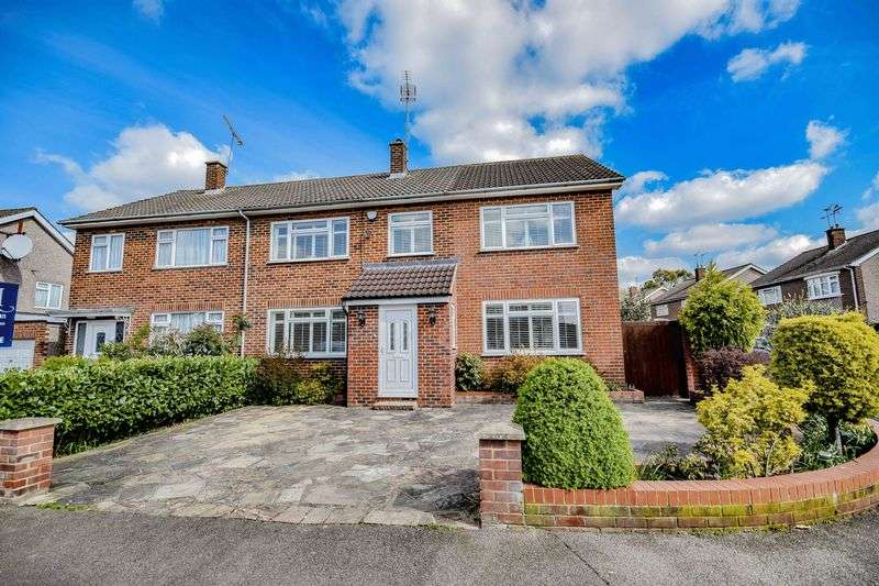 5 Bedrooms Semi Detached House for sale in Heath Drive, Ware