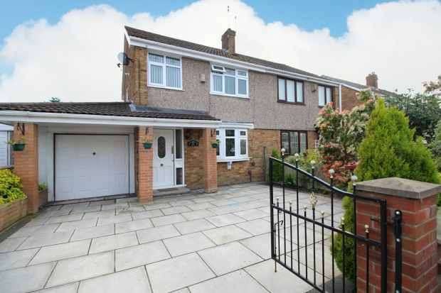 2 Bedrooms Semi Detached House for sale in Halton Hey, Prescot, Merseyside, L35 3JP
