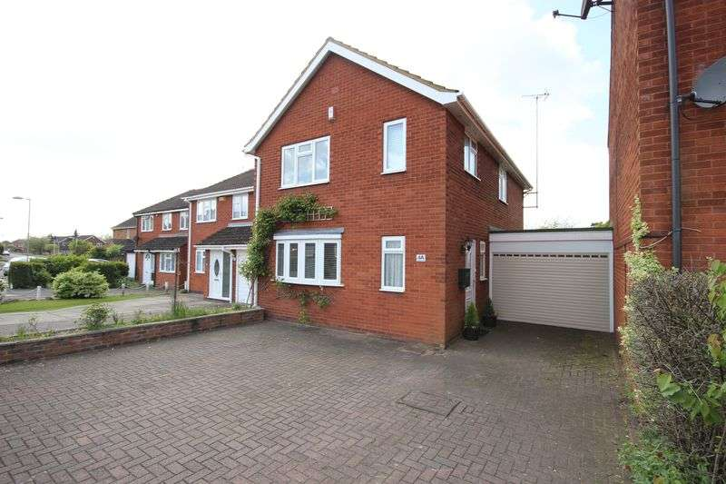 4 Bedrooms Detached House for sale in Blakeney Drive, Luton