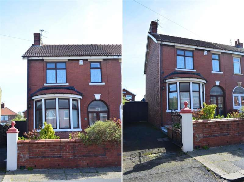 3 Bedrooms Semi Detached House for sale in Dutton Road, Blackpool, FY3 8DH