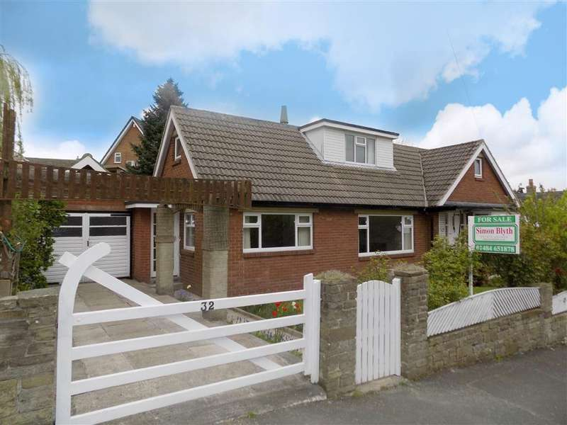 4 Bedrooms Detached Bungalow for sale in North Cross Road, Cowcliffe, Huddersfield, HD2