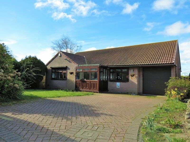 3 Bedrooms Detached Bungalow for sale in Fleming Court, Shotton, County Durham