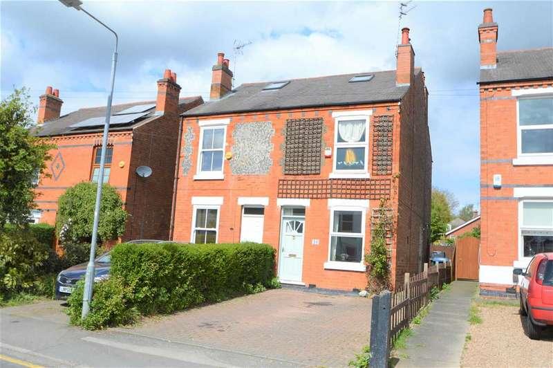 3 Bedrooms Semi Detached House for sale in Debdale Lane, Keyworth, Nottingham