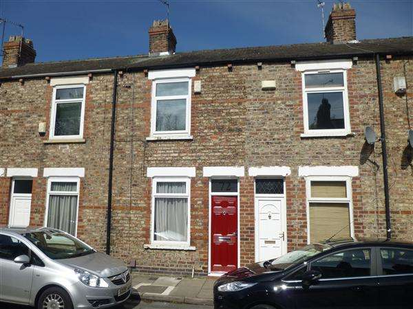 2 Bedrooms Terraced House for sale in Kitchener Street, Huntington Road, York