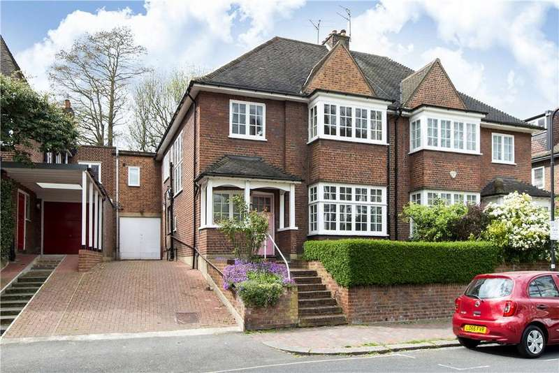4 Bedrooms Semi Detached House for sale in Lawn Road, Belsize Park, London, NW3