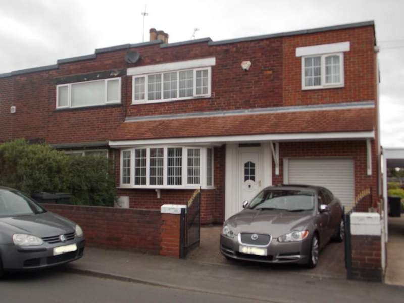 4 Bedrooms Semi Detached House for sale in Alwyn Avenue, Sunnyfields