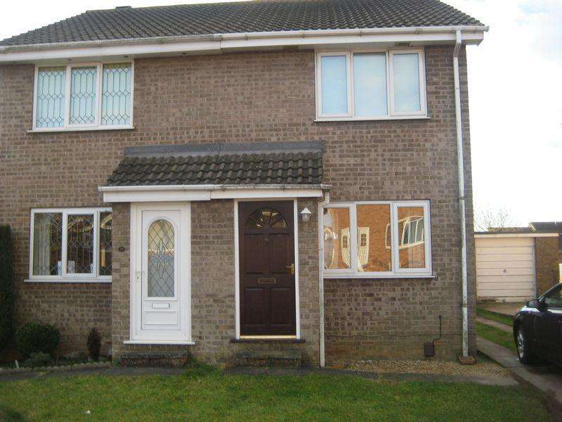 2 Bedrooms Semi Detached House for sale in Lambourne Rise, Scunthorpe