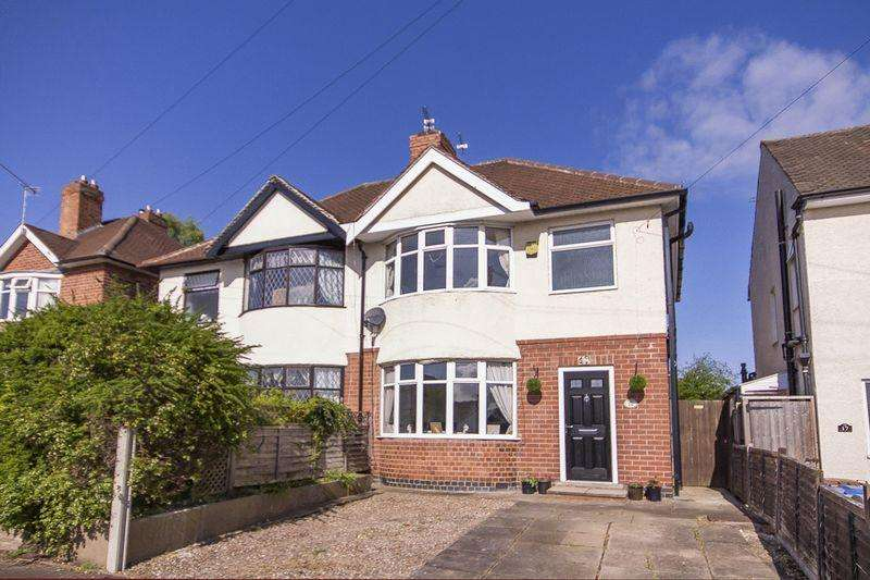 3 Bedrooms Semi Detached House for sale in WILLSON ROAD, LITTLEOVER