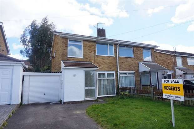3 Bedrooms Semi Detached House for sale in Westgil Pen Ffordd, BLACKWOOD, Caerphilly