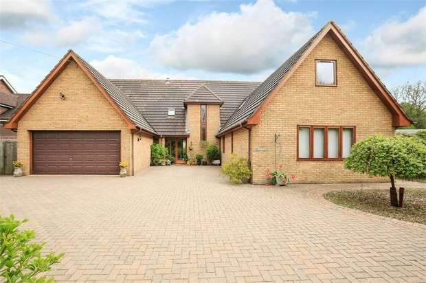 5 Bedrooms Detached House for sale in Spaldwick Road, Stow Longa, Huntingdon, Cambridgeshire