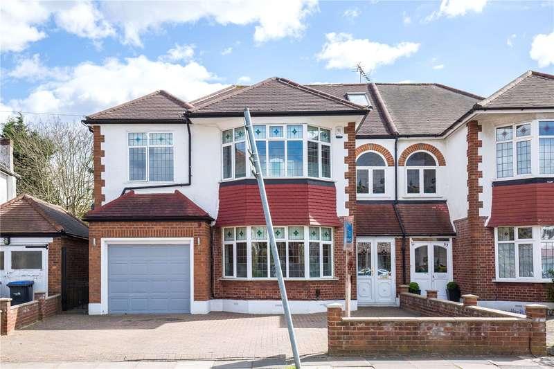 6 Bedrooms Semi Detached House for sale in Sussex Way, Cockfosters, Barnet, EN4