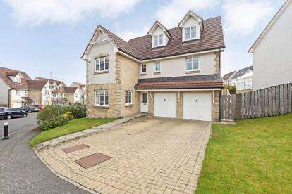 5 Bedrooms Detached House for sale in Ashlar Avenue, Cumbernauld