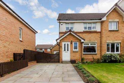 3 Bedrooms Semi Detached House for sale in Caledonia Gardens, Carluke