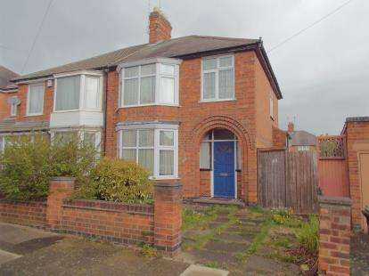 3 Bedrooms Semi Detached House for sale in Sudeley Avenue, Leicester, Leicestershire