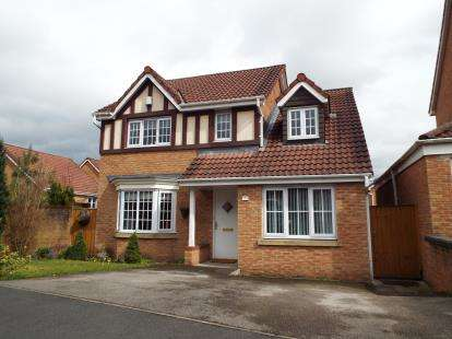 4 Bedrooms Detached House for sale in Ashurst Grove, Radcliffe, Manchester, Greater Manchester
