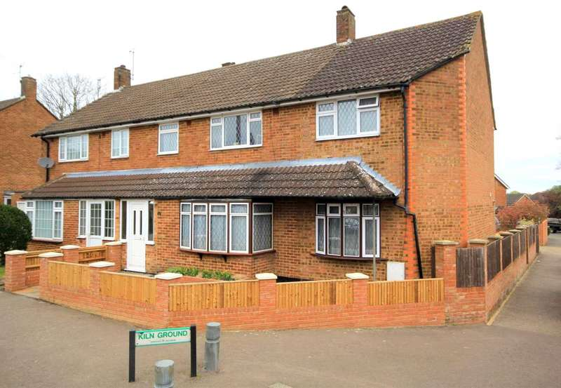 4 Bedrooms Semi Detached House for sale in EXTENDED 4 BED WITH GARAGE AND PARKING IN SOUGHT AFTER KILN GROUND, LEVERSTOCK GREEN