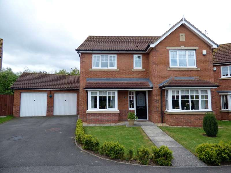 4 Bedrooms Detached House for sale in Worset Grove, Redcar