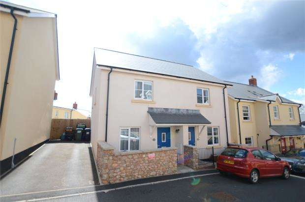 2 Bedrooms Semi Detached House for sale in Charles Road, Kingskerswell, Newton Abbot, Devon