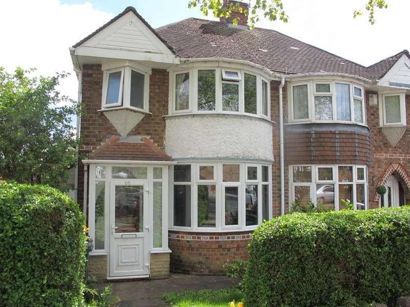 3 Bedrooms Semi Detached House for sale in Bryn Arden Road, Birmingham