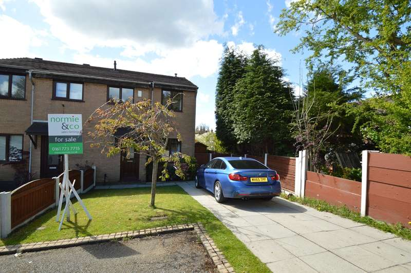 3 Bedrooms Semi Detached House for sale in Conisborough Place, Whitefield, Manchester, M45