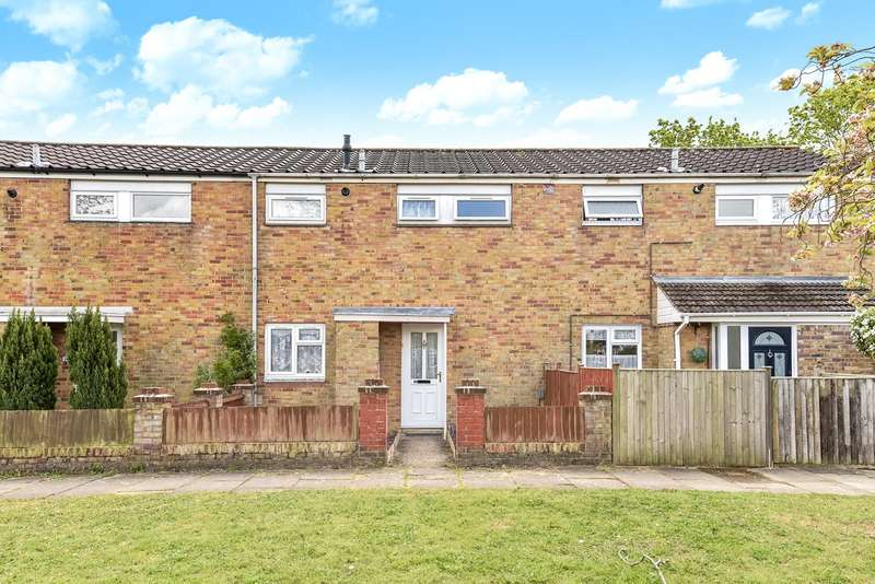 2 Bedrooms Terraced House for sale in Schubert Road, Brighton Hill, Basingstoke, RG22