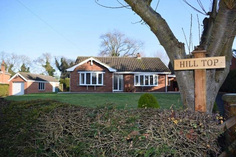 3 Bedrooms Detached Bungalow for sale in Hill Top, Church Lane, North Thoresby