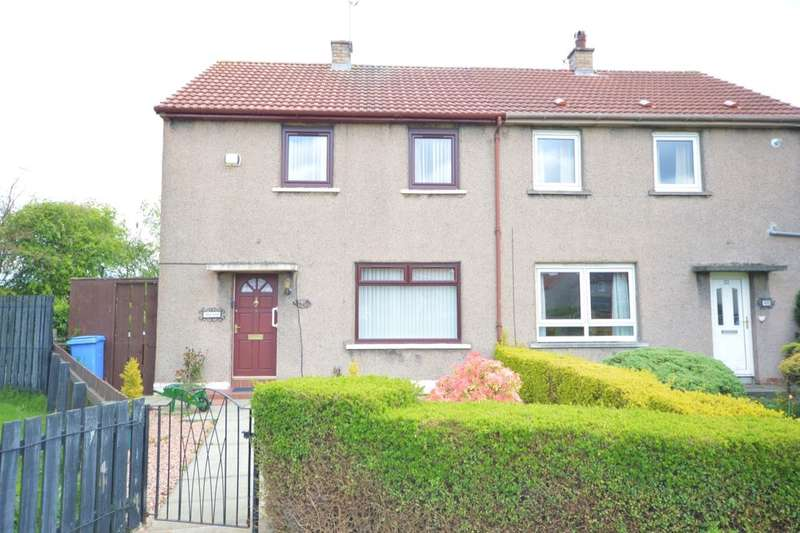 2 Bedrooms Semi Detached House for sale in Cramond Gardens, Kirkcaldy, KY2