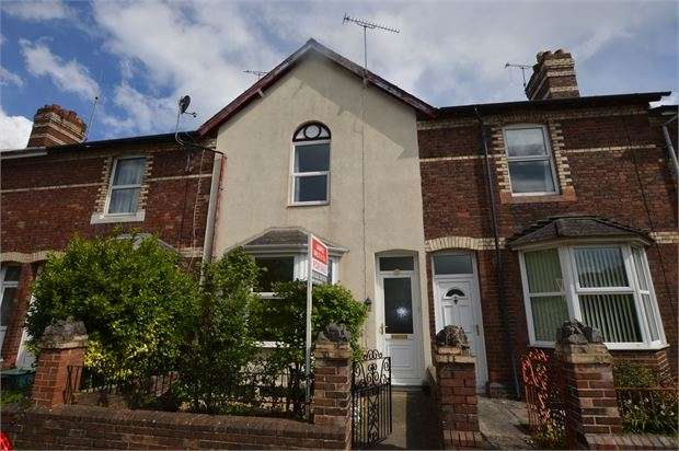 2 Bedrooms Terraced House for sale in Forde Close, Newton Abbot, Devon. TQ12 4AF