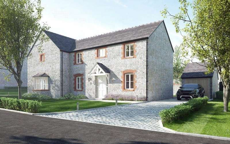 3 Bedrooms Semi Detached House for sale in Townwell Green, Cromhall, Wotton-under-Edge, Gloucestershire, GL12