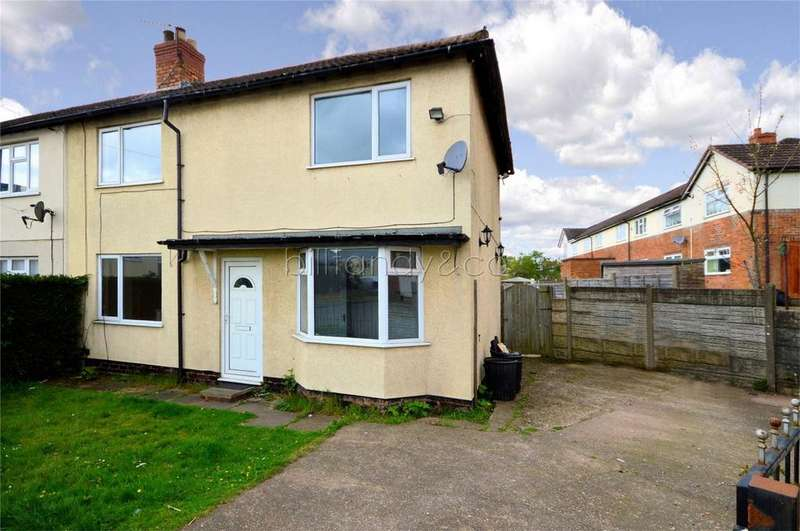 3 Bedrooms Semi Detached House for sale in Bank Crescent, Chasetown, Burntwood, Staffordshire