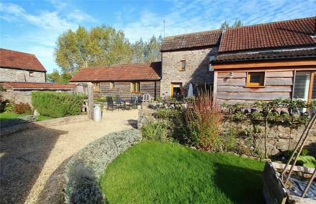 4 Bedrooms Barn Conversion Character Property for sale in Willow Barn, Sheepway, Portishead, North Somerset