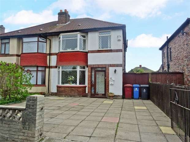 3 Bedrooms Semi Detached House for sale in Rupert Road, Liverpool, Merseyside