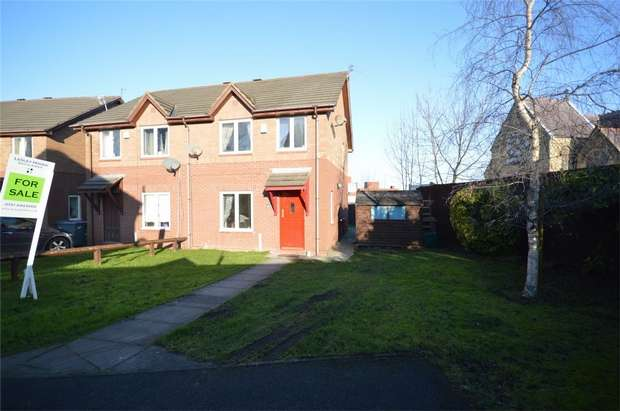3 Bedrooms Semi Detached House for sale in Lawnside Close, Rock Ferry, Merseyside
