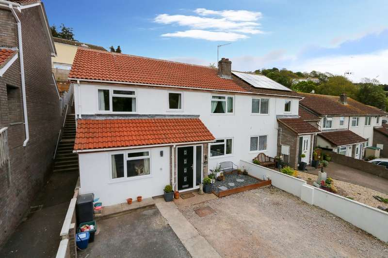 4 Bedrooms Semi Detached House for sale in Falkland Way, Teignmouth