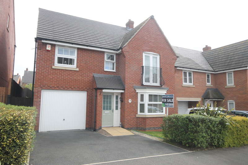 4 Bedrooms Detached House for sale in Oaklands Drive , Earl Shilton