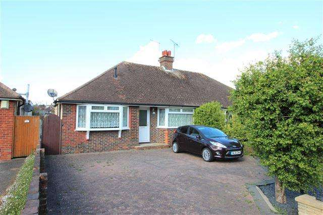 3 Bedrooms Chalet House for sale in Cedar Avenue, Worthing, West Sussex, BN13 2HU