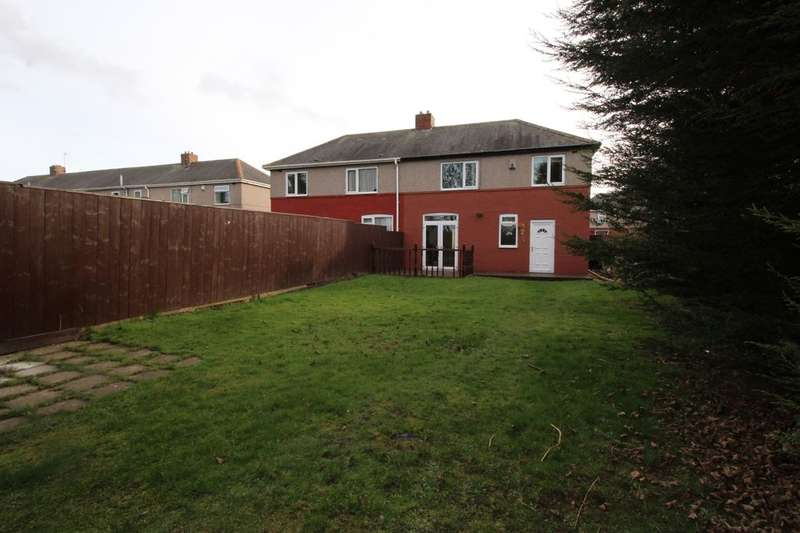 3 Bedrooms Semi Detached House for sale in Northumberland Road, Thornaby, Stockton-On-Tees, TS17