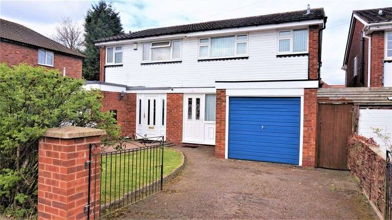3 Bedrooms Semi Detached House for sale in Grange Farm Drive, Kings Norton, Birmingham
