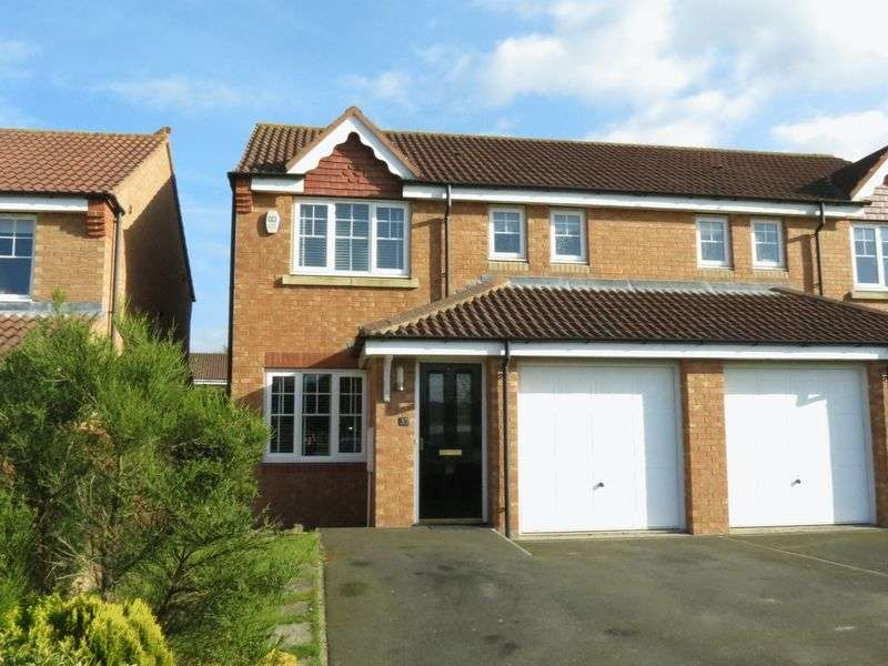 3 Bedrooms Semi Detached House for sale in Ellerby Mews, Thornley, County Durham