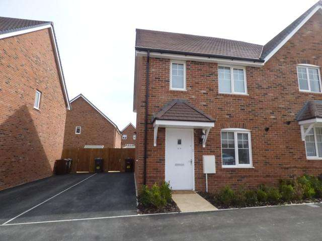 3 Bedrooms Semi Detached House for sale in FULLERS WAY, ANDOVER SP11