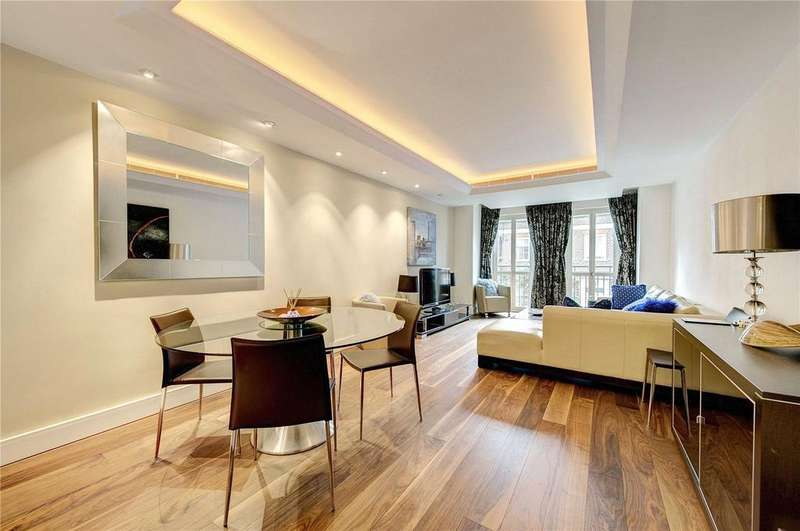 1 Bedroom Flat for sale in Lancelot Place, London, SW7