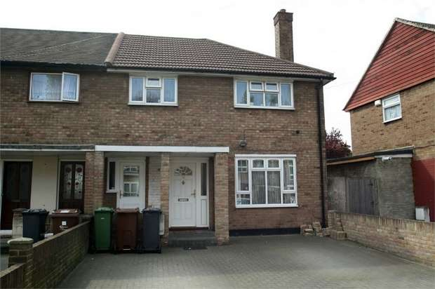 3 Bedrooms End Of Terrace House for sale in Charlton Crescent, Barking, Essex