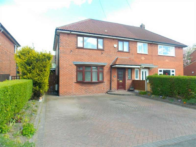 3 Bedrooms Semi Detached House for sale in Staton Avenue, Tonge Fold, Bolton, Lancashire