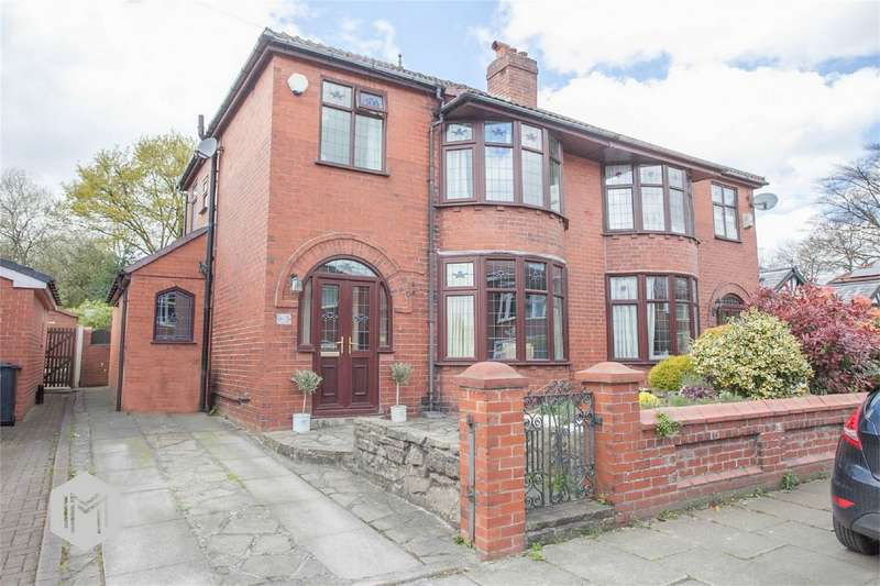 3 Bedrooms Semi Detached House for sale in Birkdale Drive, Bury, Lancashire