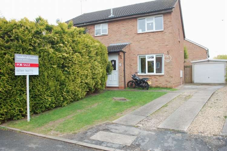 2 Bedrooms Semi Detached House for sale in Horton Close Alcester