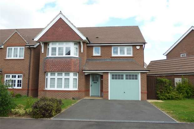 4 Bedrooms Detached House for sale in Sheelin Crescent, Eliot's View, Nuneaton, Warwickshire